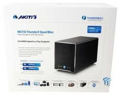 Akitio Thunder2 Quad Mini External Storage Enclosure Review 02 | TweakTown.com