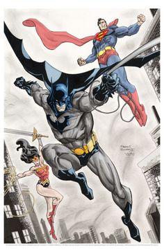 DC Trinity by Freddie E. Williams II