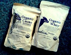 Raw Organic Whey & Cacao Powder Review http://runonorganic.com/2014/12/11/raworganicwhey-com-review/ #organic #raw #superfoods