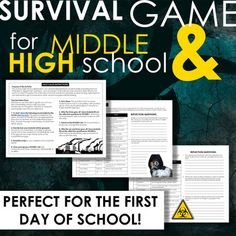 What Smart People Buy During a Pandemic. 1 talking about this · 1 was here. First Day Of School Activities, School Games, School Fun, Middle School, Back To School, High School Classroom, Schools First, Eighth Grade, Beginning Of The School Year