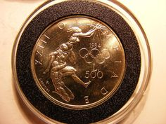 San Marino Silver 500 Lire, 1984, 1984 Summer Olympics, UNCIRCULATED http://united-states-tourist.info/it/si/?query=391295290160…