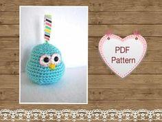 Amigurumi pattern Candy the Bird