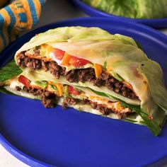 Taco Bell's Crunchwrap may be the last thing you expect to be able to eat on the Keto diet. The cabbage wrapped version makes it possible. All of your favorite fillings are there, including a crunch cheese crisp to imitate the tostada you'd normally find in a crunchwrap supreme and Keto friendly cheese sauce too! Full recipe on Delish.com. Slow Cooker Keto Recipes, Free Keto Recipes, Healthy Low Carb Recipes, Beef Recipes, Mexican Food Recipes, Cooking Recipes, Sushi Recipes, Cooking Videos, Keto Sausage Recipe