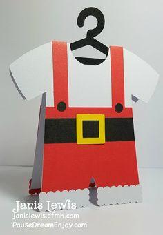 CLOTHES SANTA CLAUS CARD by StudioIlustrado Design ID #106063