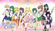 All Super Sailor Senshi Sailor Moon Crystal by xuweisen fan art
