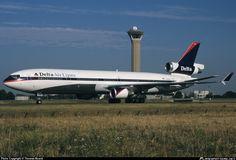 MD-11 - Delta Air Lines N805DE @ Paris - Charles De Gaulle(CDG / LFPG) Airport,France.