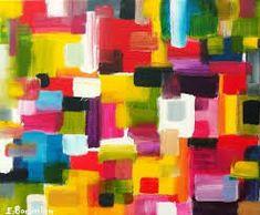 """Résultat de recherche d'images pour """"tableau multicolores et graphismes contemporain"""""""