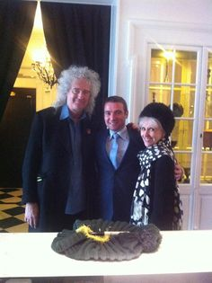 #CelebritySpot Brian May, of Queen fame, and his wife Anita Dobson recently stayed at Hotel de Tulerieën in Bruges, Belgium. http://www.slh.com/hotels/hotel-de-tuilerieen/