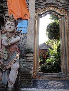 Balinese family compound entrance
