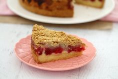 This Raspberry & Apple Crumble Cake has the perfect butter cake base, topped with berries and apple and sprinkled with a crunchy oat crumble. Apple Crumble Cake, Thermomix Desserts, Something Sweet, No Bake Cake, Cake Recipes, Raspberry, Cheesecake, Deserts, Sweets