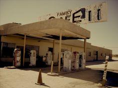 Old service station, Desert Center, CA.  DSMc.2011