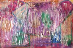 PArty Painting Print on Wrapped Canvas