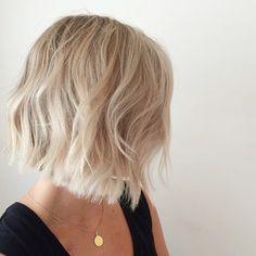 blondie lob cut