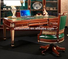 OE-FASHION wooden new design classic wood office desk and chair, View front office desk design, OE-FASHION Product Details from Foshan Oe-Fashion Furniture Co., Ltd. on Alibaba.com