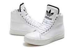 Full Of Half Off Cheap Adidas Skate Shoes,Adidas ObyO Leopard Limited  Edition M Attitude Monogram Big Tongue All White Black