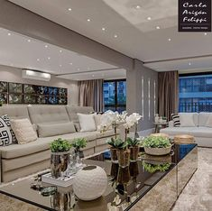 Tips For Buying New Living Room Furniture Ideas - homeuntold Living Room Decor On A Budget, New Living Room, Living Room Designs, Beautiful Living Rooms, Fall Home Decor, Living Room Inspiration, Luxury Living, Modern Interior Design, Luxury Homes