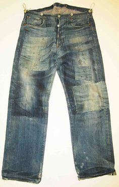 Selectism - Levis 501XX Special Edition Spur Bites and Barnyard Jeans