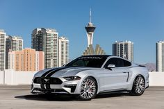 Ford 2018 Air Design Mustang Fasback Grey Silver automobile
