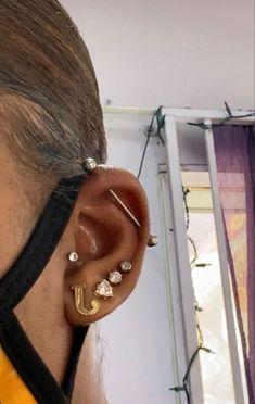 Cute Nose Piercings, Piercings For Girls, Body Piercings, Piercing Tattoo, Jewelry Tattoo, Ear Jewelry, Cute Jewelry, Body Jewelry, Jewellery