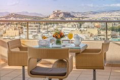 How Athens became Europe's most exciting arts capital- HarpersBAZAARUK Bed Rug, French Style Homes, Leading Hotels, European Home Decor, Happy Pictures, Spacious Living Room, Outdoor Furniture Sets, Outdoor Decor, Beautiful Hotels