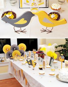 Look at all the DIY ways this clever party planner used to give her table color and fun!