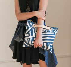 Navy Marks Oversized -Made to Order by londontierney
