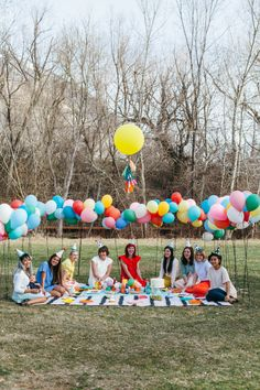 Balloons and books baby shower Birthday Party At Park, Picnic Birthday, Outdoor Birthday, Party At The Park, 2 Year Old Birthday, Balloon Wall, Balloons, Balloon Display, Picnic Baby Showers