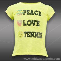 Lucky In Love Girl's Rhinestone Shirt