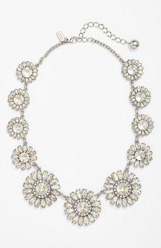 Wow! kate spade new york 'estate garden' crystal collar necklace