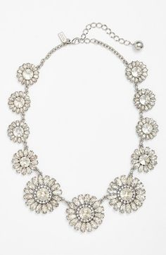 Wow! kate spade new york 'estate garden' crystal collar necklace