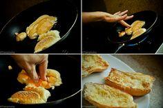 Pão, manteiga e frigideira ♥hummmm.   # Pin++ for Pinterest #