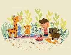 illustration friday- toy
