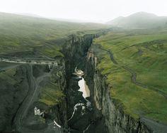 Canyon of Jökulsa a Bru, 2000-2011  Olaf Otto Becker