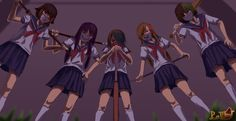 The Five Delinquents by aaa1357932 on DeviantArt