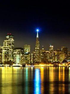 ciudad iluminada | Fondos para iPhone