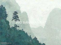 014 Forest Sentinel Along Li River by Richard Neuman Digital Media ~ 18 x 24
