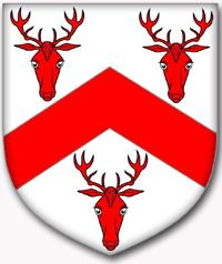 Cheshire Heraldry - Arms of The Vale Royal of England (D. King) 1656