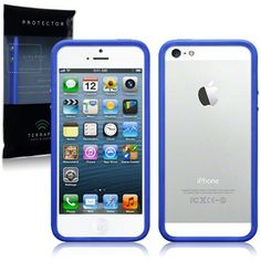 IPhone 5 Bumper Case By Terrapin - Dark Blue