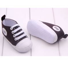$2.99 Baby-Boy-Girl-Soft-Sole-Crib-Shoes-Infant-Toddler-Newborn-to-12-Months-HOT