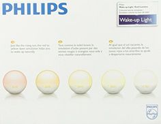 Philips HF3520 Wake-Up Light Coloured Sunrise Simulation, White.   $149.99