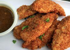 Skinless Chicken, Honey Mustard, Pretzels Crusts, Pretzels Chicken ...
