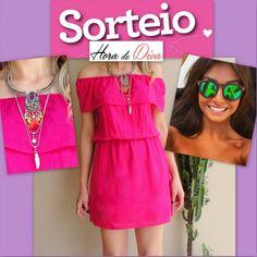 sorteio-vestido-pink-ciganinha-illesteva-oculos-espelhado-acessórios-ganhar-hora-de-diva