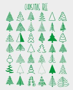 Friend christmas gifts, christmas cards handmade, christmas gifts baking …… – Famous Last Words Christmas Doodles, Christmas Drawing, Noel Christmas, Christmas Crafts, How To Draw Christmas Tree, Christmas Tree Pics, Christmas Pictures To Draw, Xmas Trees, Winter Trees