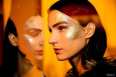 Backstage at the Chanel Mtiers d\Art Show in Dallas - Vogue Daily - Fashion and Beauty News and Features