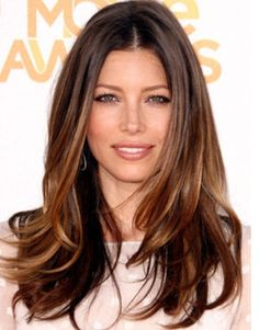 Jessica Biel's hair, I love it so much!
