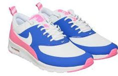 newest collection 44644 8a3fe Nike Womens Air Max Thea Game Royal Pink Glow size uk 4 Model 599409-403