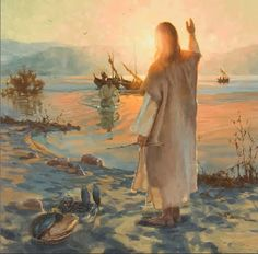 Learn of the many miracles performed by Jesus Christ through artwork from the Church History Museum Collection and exhibits. Lds Art, Bible Art, Catholic Art, Religious Art, Feed My Sheep, Pictures Of Christ, Bible Pictures, Jesus Painting, Jesus Art