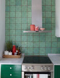 Smaragdgrönt kök | Sköna hem