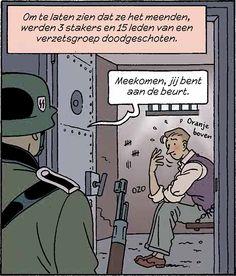 Les voor het digitale schoolbord bij het educatieve stripboek De Ontdekking. De les bevat opdrachten over de geschiedenis van Nederland tijdens de Tweede Wereldoorlog voor leerlingen van 12 tot en met 15 jaar en een handleiding voor docenten.