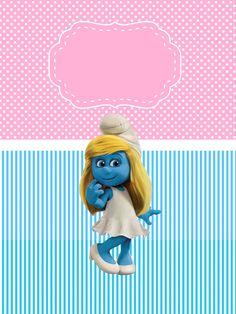 http://montandoaminhafesta.blogspot.com.br/2013/08/os-smurfs-2-meninas.html